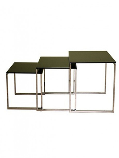 Glassy Side Table Icon 461x614
