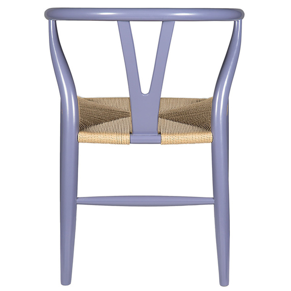 Gray Hemp Y Wishbone Chair 2