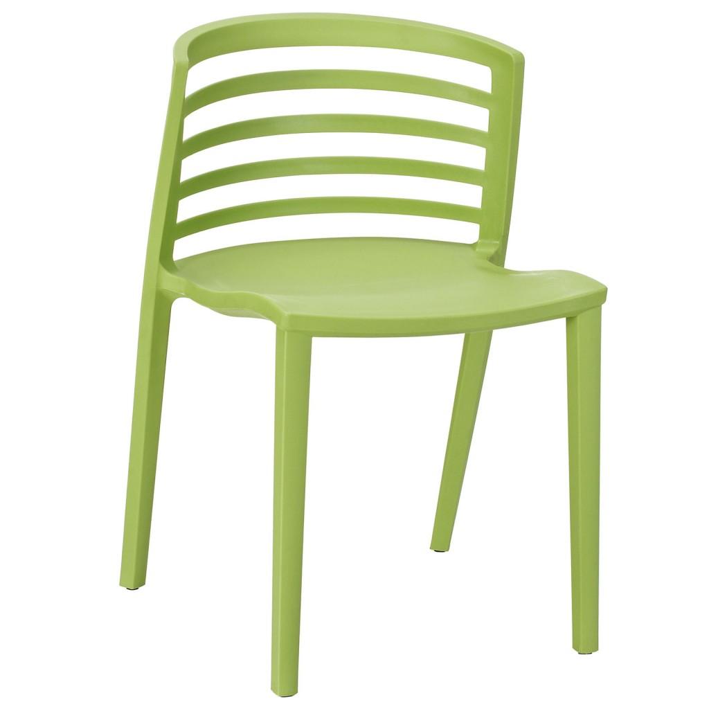 Green Skeleton Chair 1