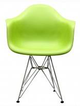 Green Wire Base Chair 156x207