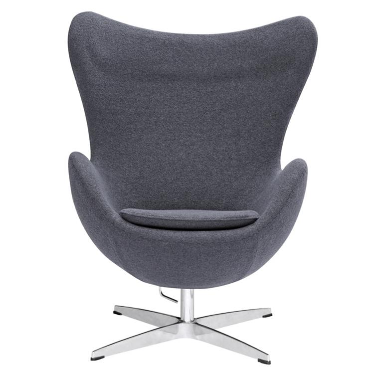 Grey Magnum Wool Chair 1