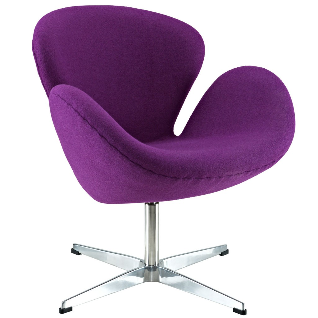 Hug Wool Chair Purple