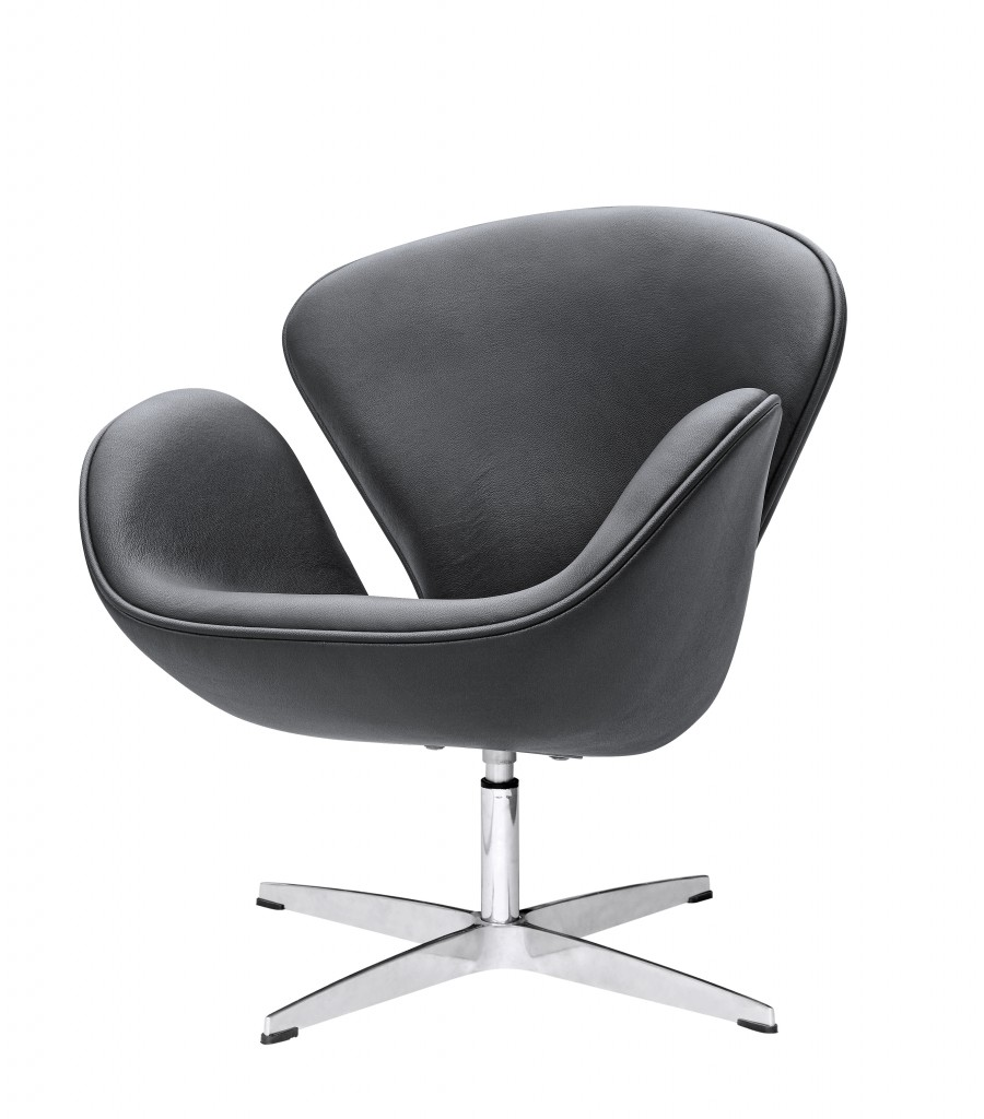 Hug Leather Chair Modern Furniture Brickell Collection
