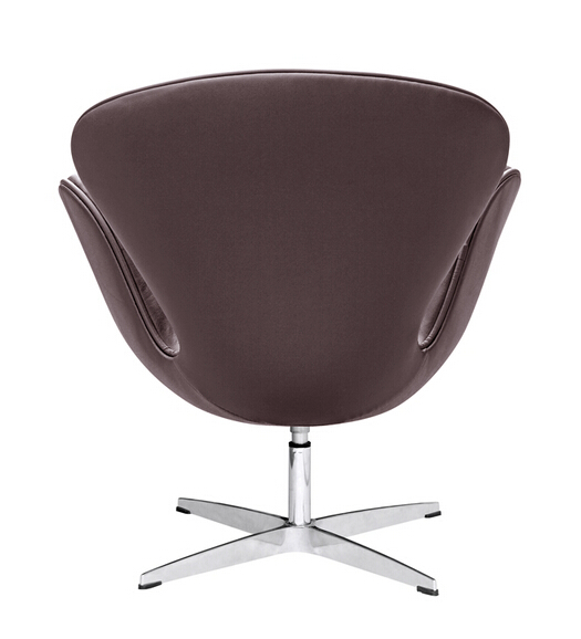 Hug Leather Chair Brown