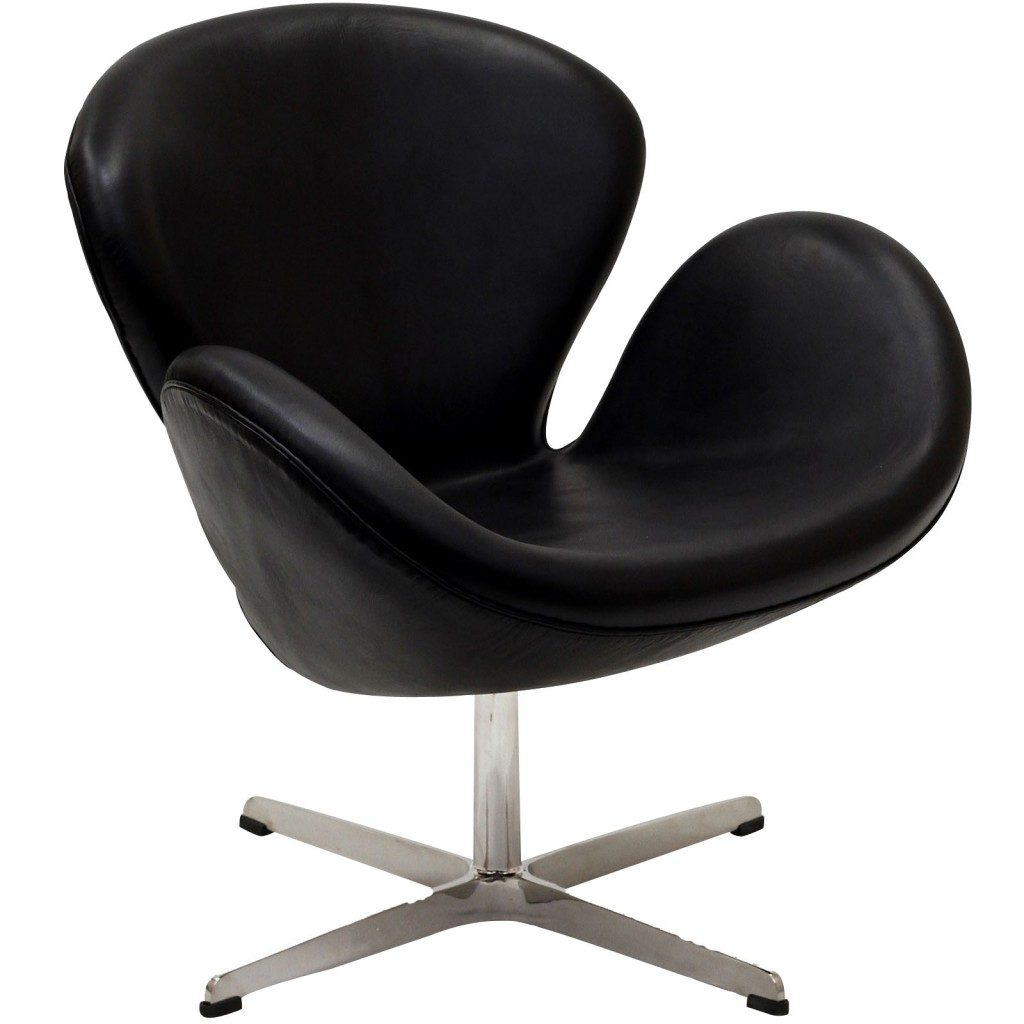 Hug Leather Chair Light Black 10