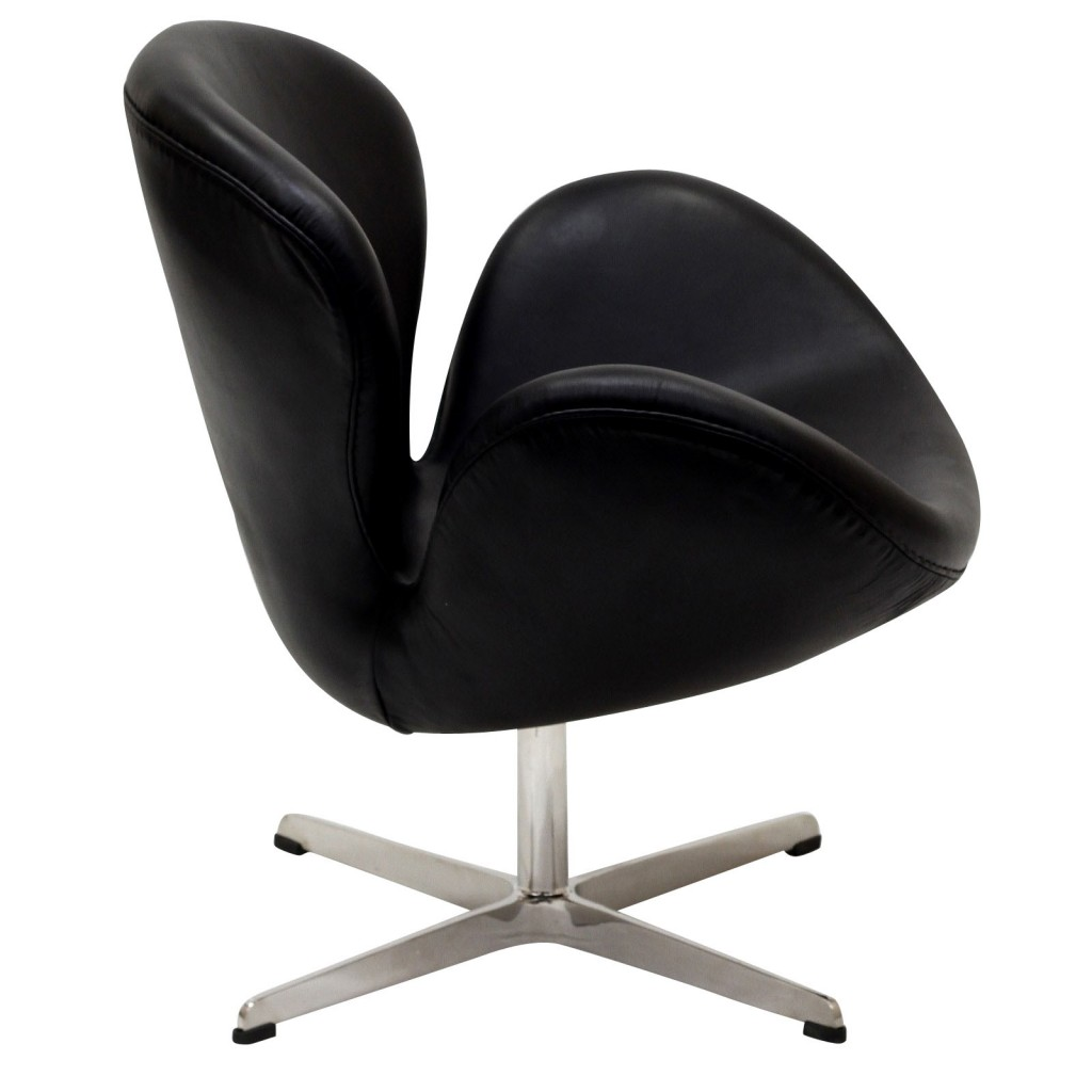 Hug Leather Chair Light Black 8