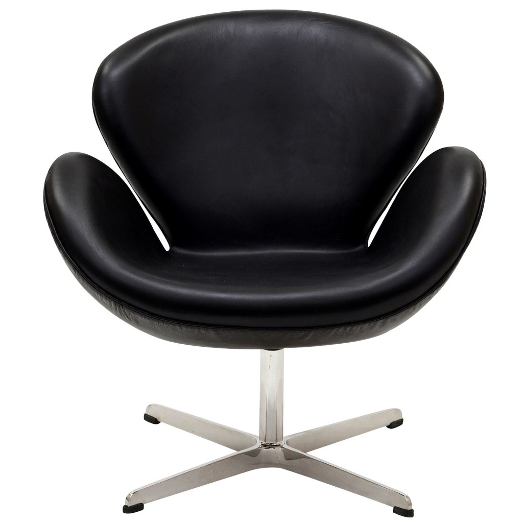 Hug Leather Chair Light Black 9