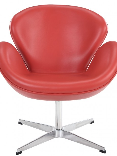 Hug Leather Chair Light Red 3 461x614