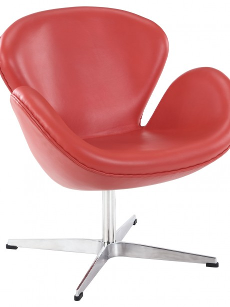Hug Leather Chair Light Red 4 461x614