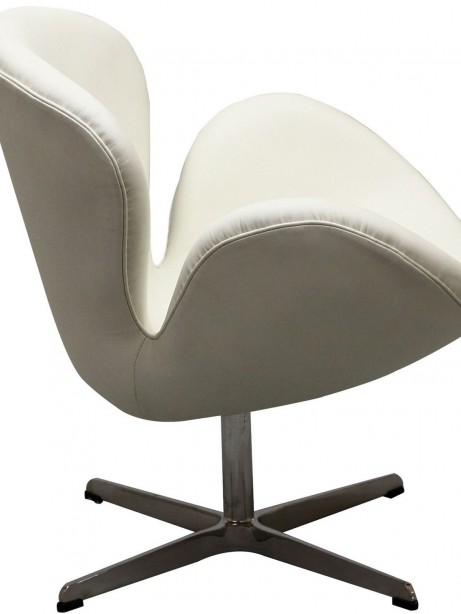 Hug Leather Chair Light White 3 461x614
