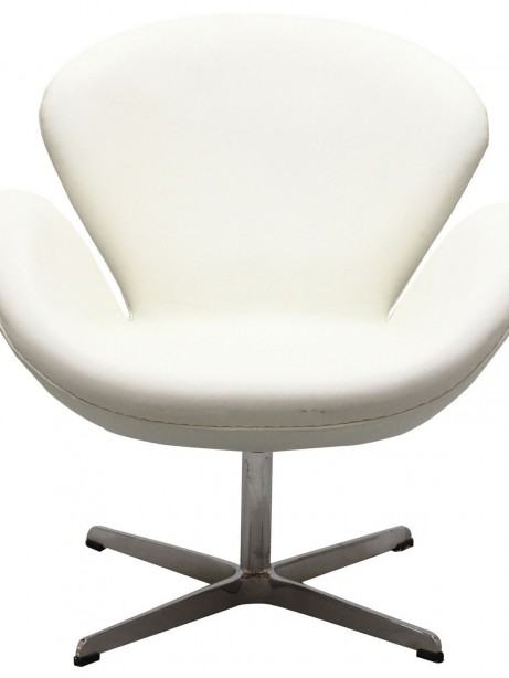 Hug Leather Chair Light White 4 461x614