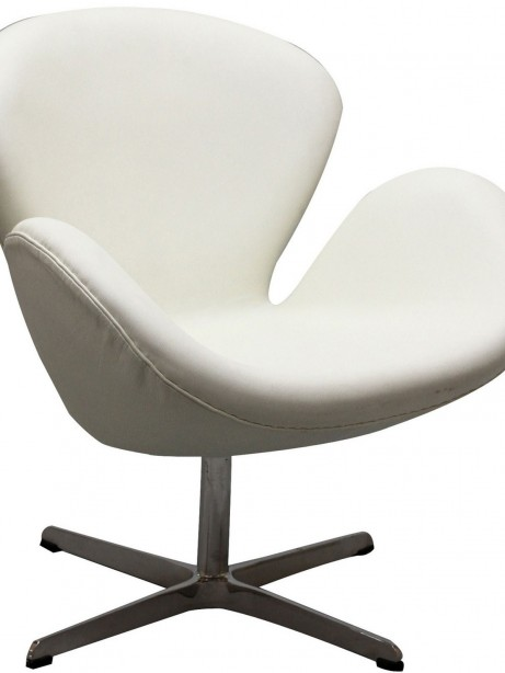Hug Leather Chair Light White 5 461x614