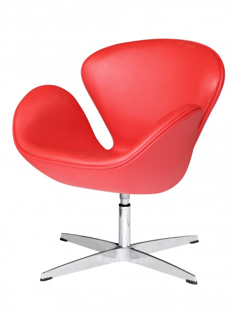 Hug Leather Chair Red 2 461x614