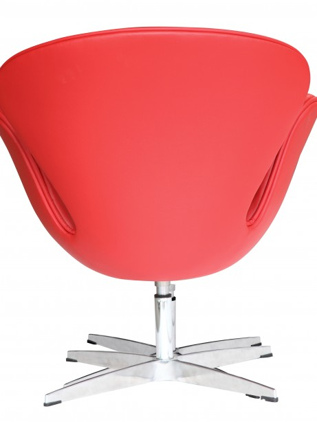 Hug Leather Chair Red 3 461x614