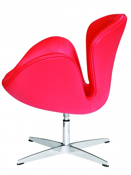 Hug Leather Chair Red 4 461x614
