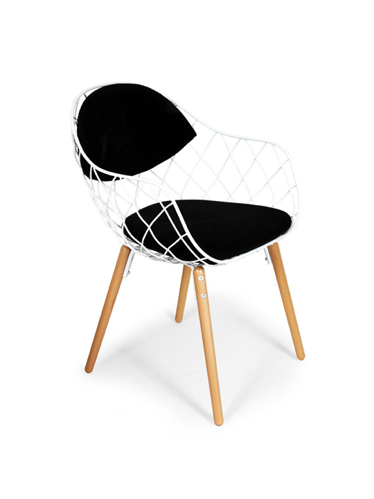 Lambi Armchair Modern Furniture Brickell Collection