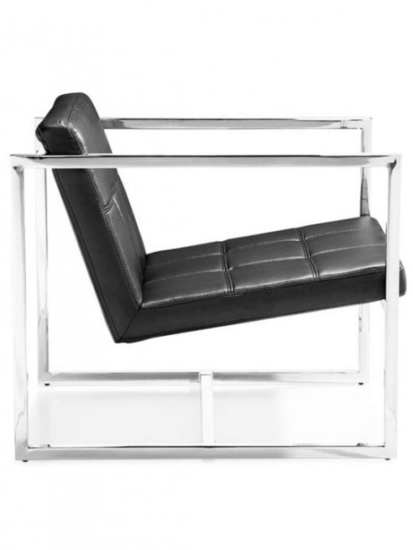 Luxe Leather Lounge Chair 461x614