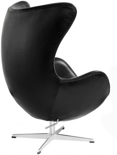 Magnum Black Leather Accent Chair 3 461x614
