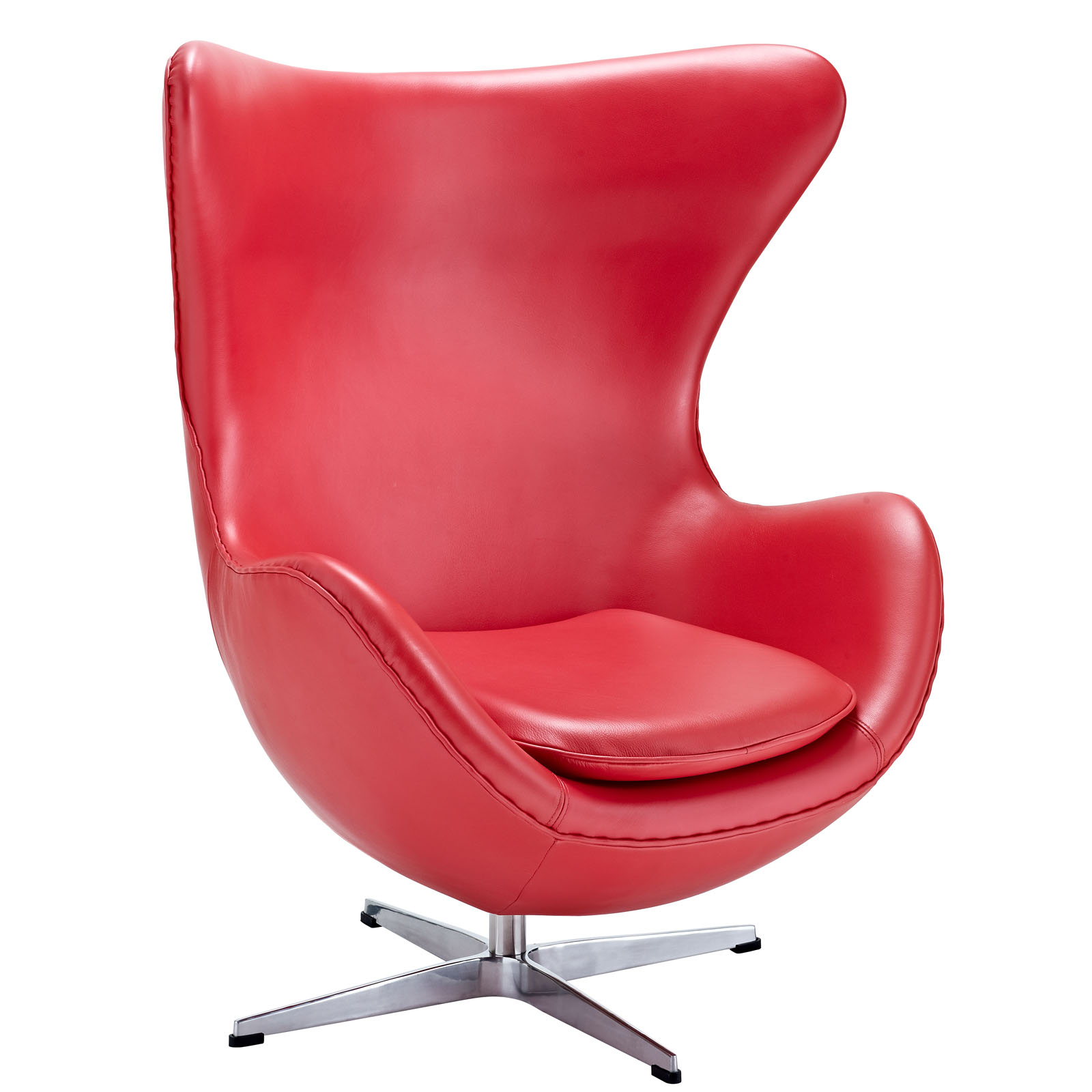 Magnum Leather Chair Red