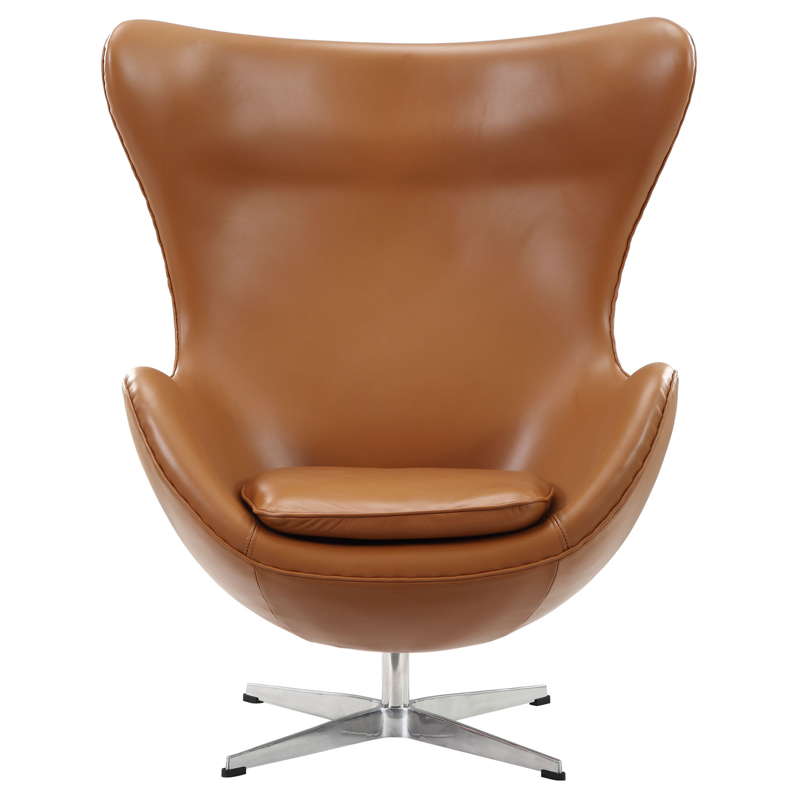 Beau Magnum Leather Chair Tan 2