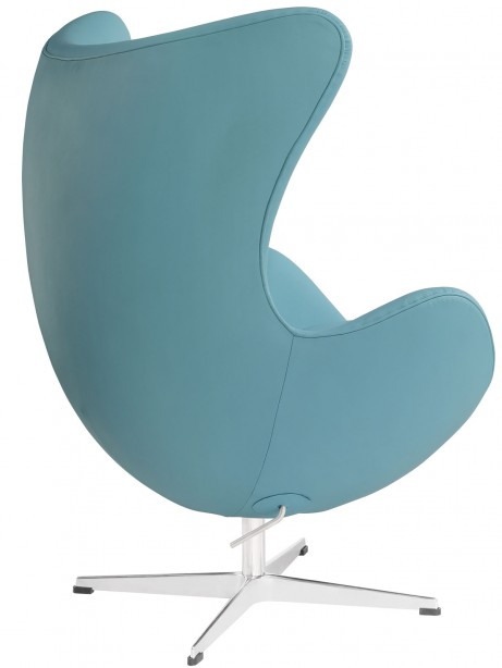 Magnum Light Blue Leather Accent Chair 3 461x614
