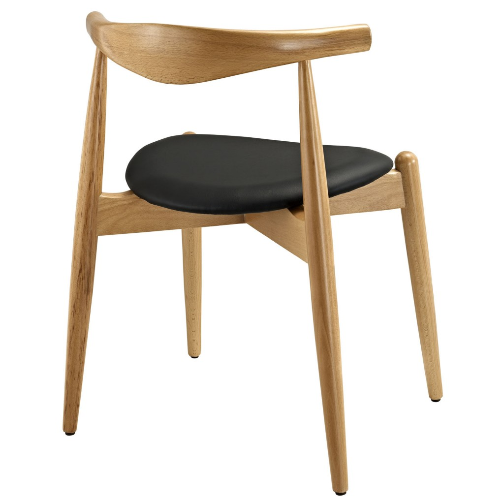 Marfa Chair Natural Wood Black