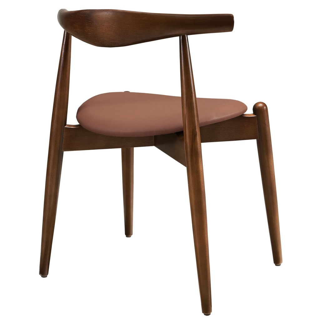 Marfa Chair Walnut Tan 3