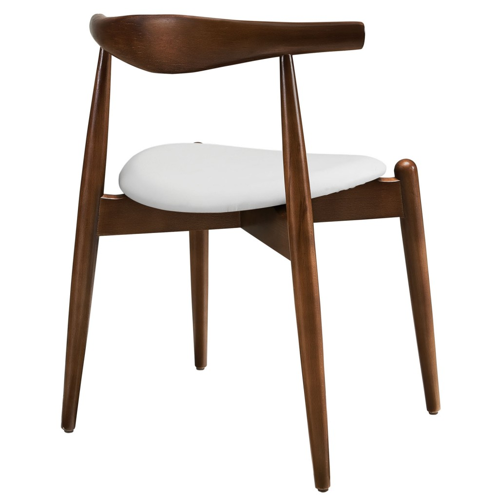 Marfa Chair Walnut White 2