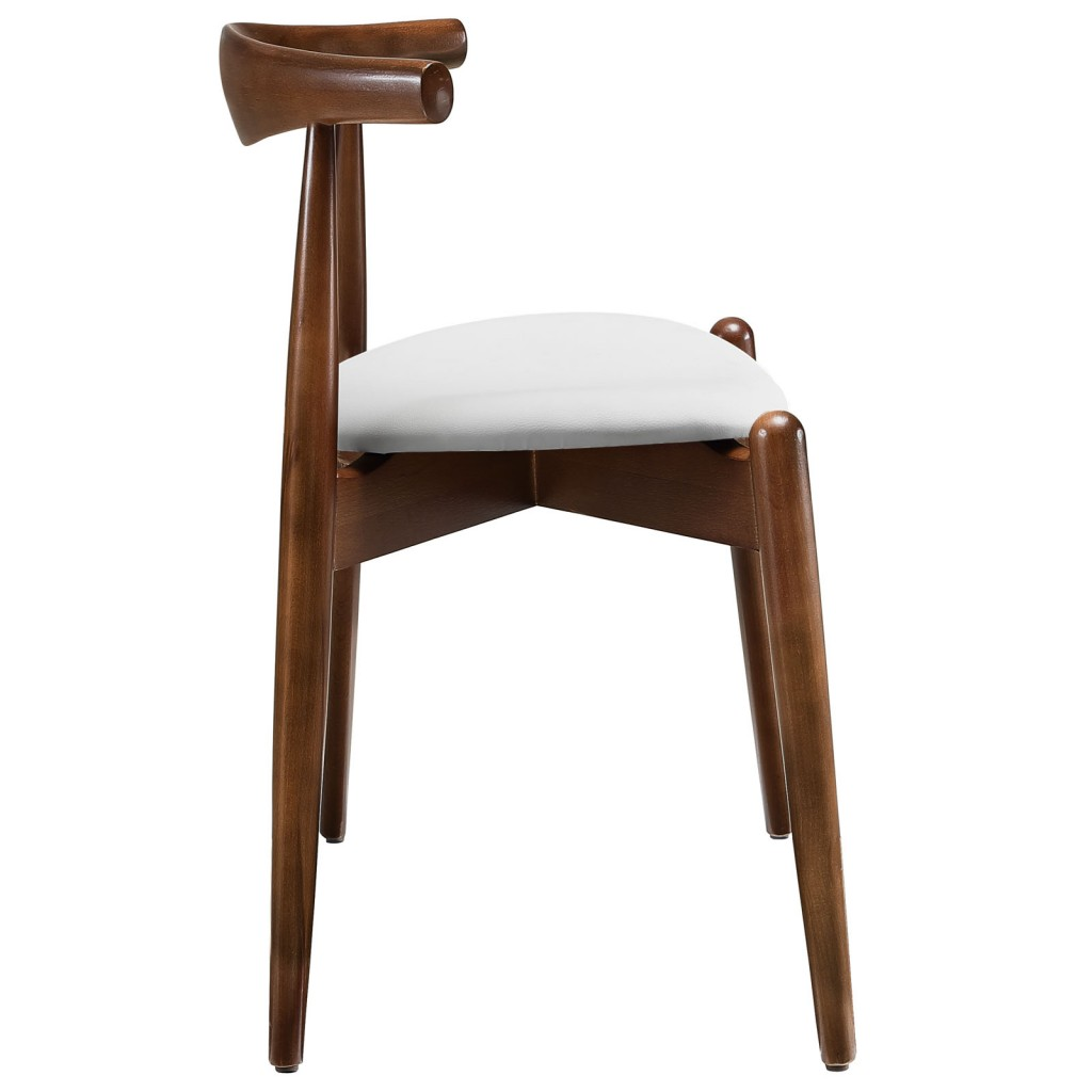 Marfa Chair Walnut White