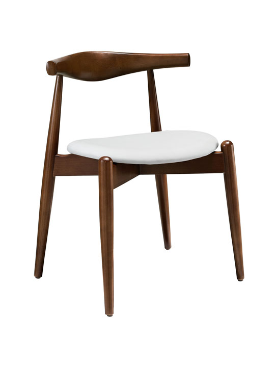 Marfa Wood Chair White Seating