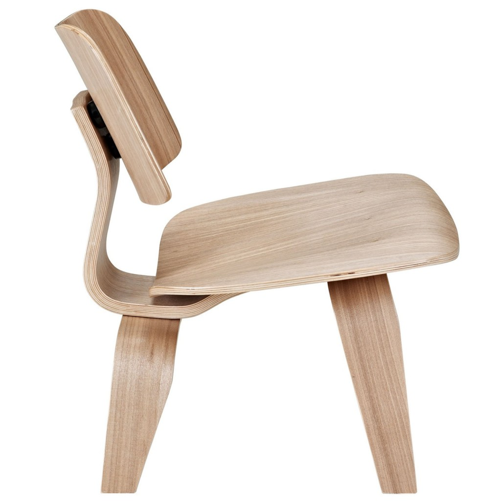 Natural Wood Bamboo Lounge Chair 4