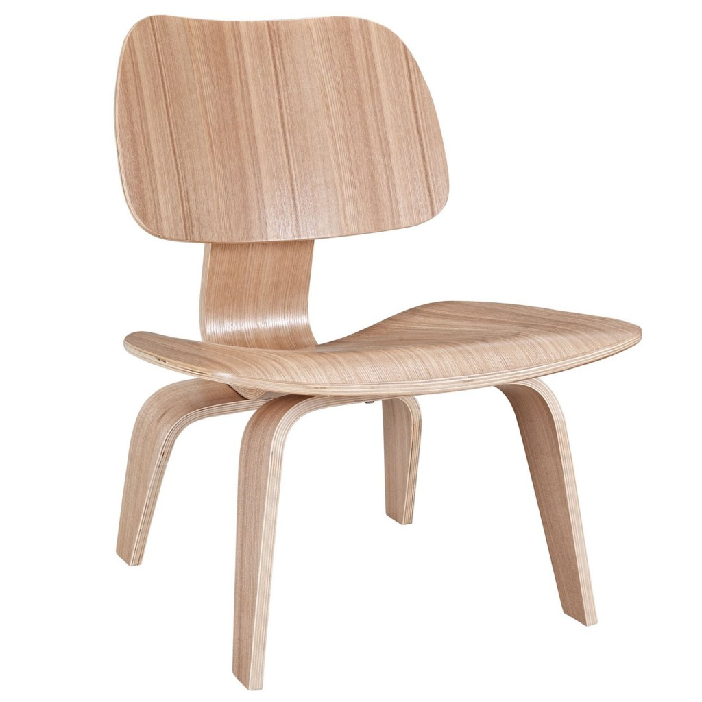 Natural Wood Bamboo Lounge Chair