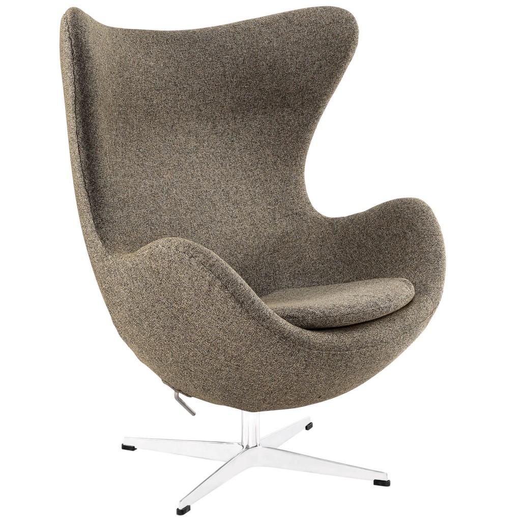Oatmeal Magnum Wool Chair
