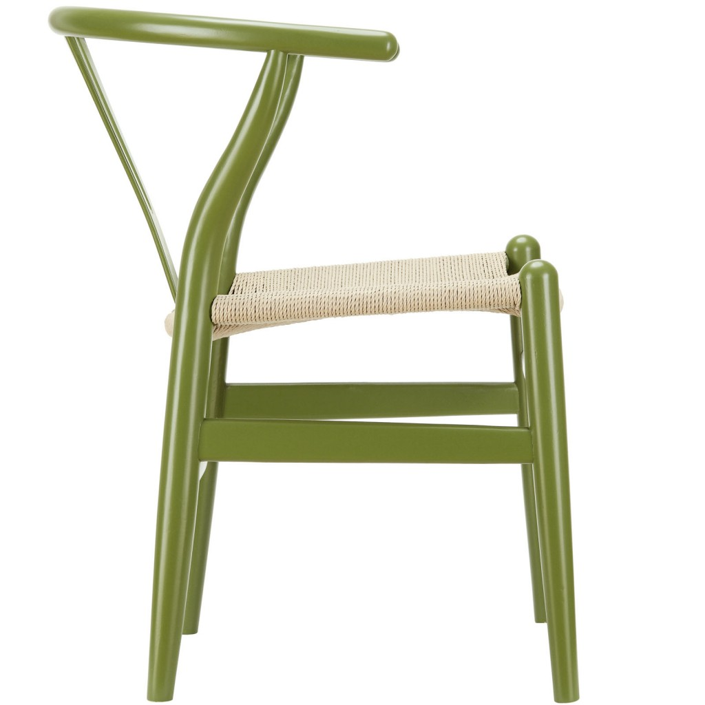Olive Green Hemp Chair 2