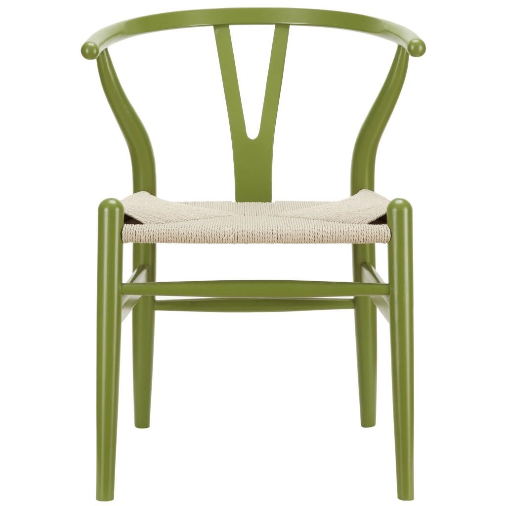 Olive Green Hemp Chair 3