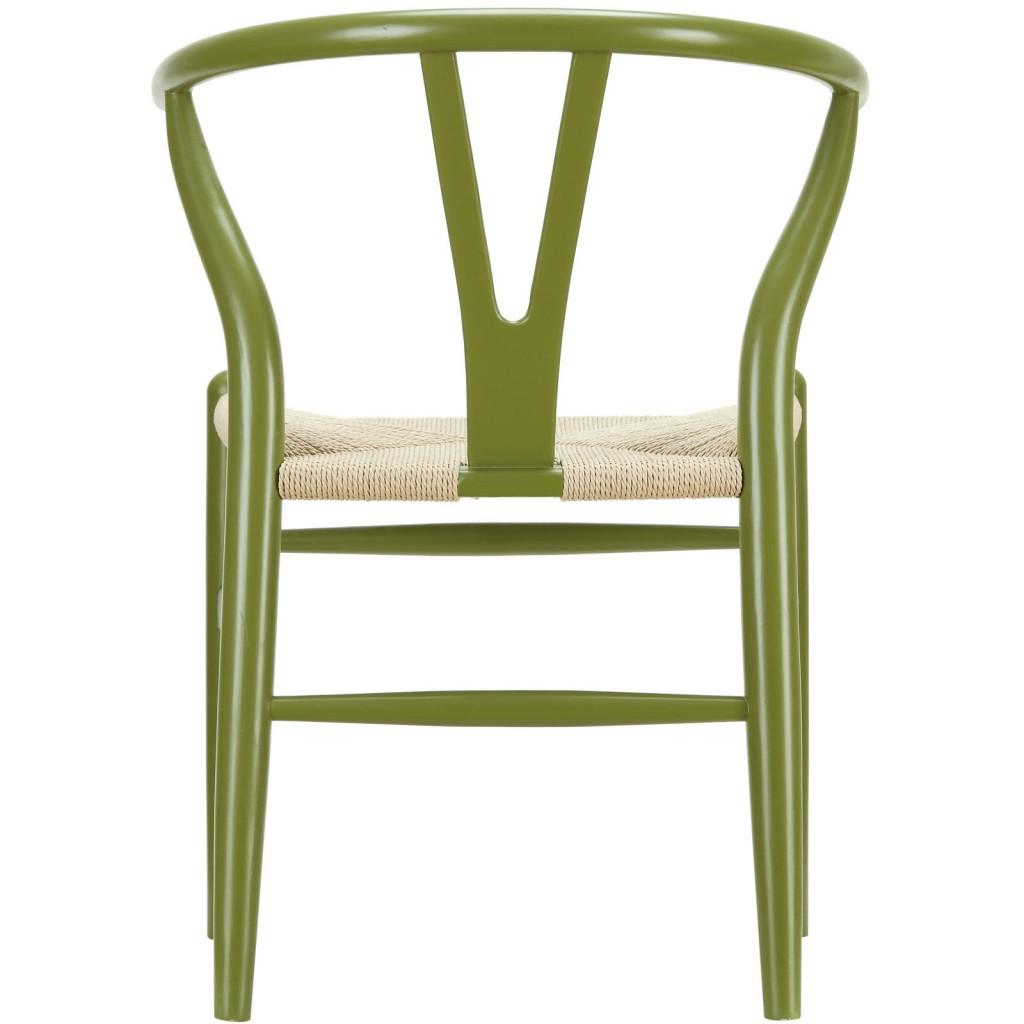 Olive Green Hemp Chair