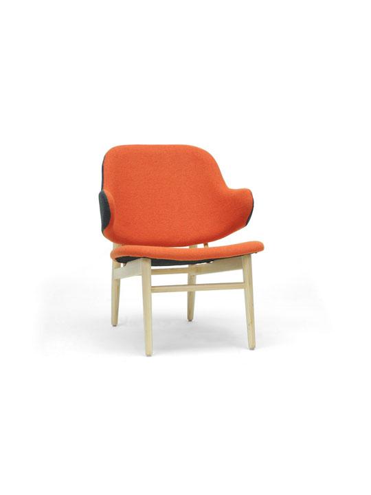 Orange Balman Chair 4