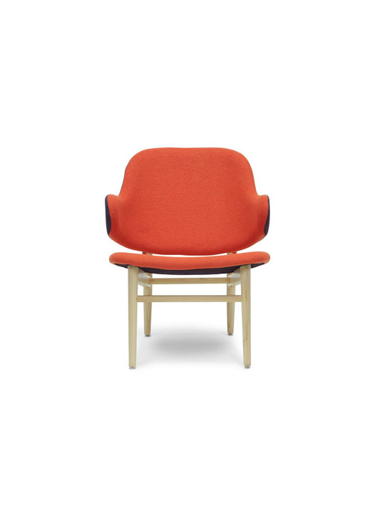 Orange Balman Chair