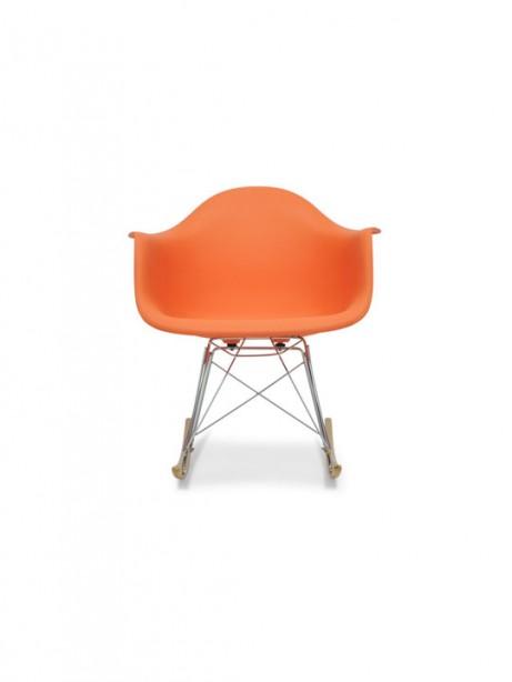 Orange Dock Rocker Rocking Chair 2 461x614