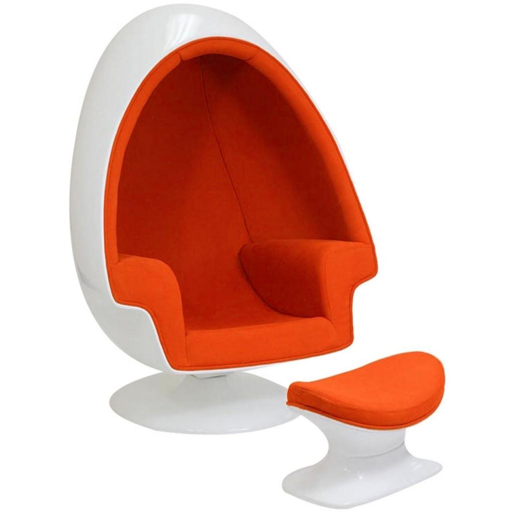 Orange Droplet Lounge Set
