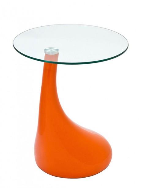 Orange Droplet Side Table 461x614