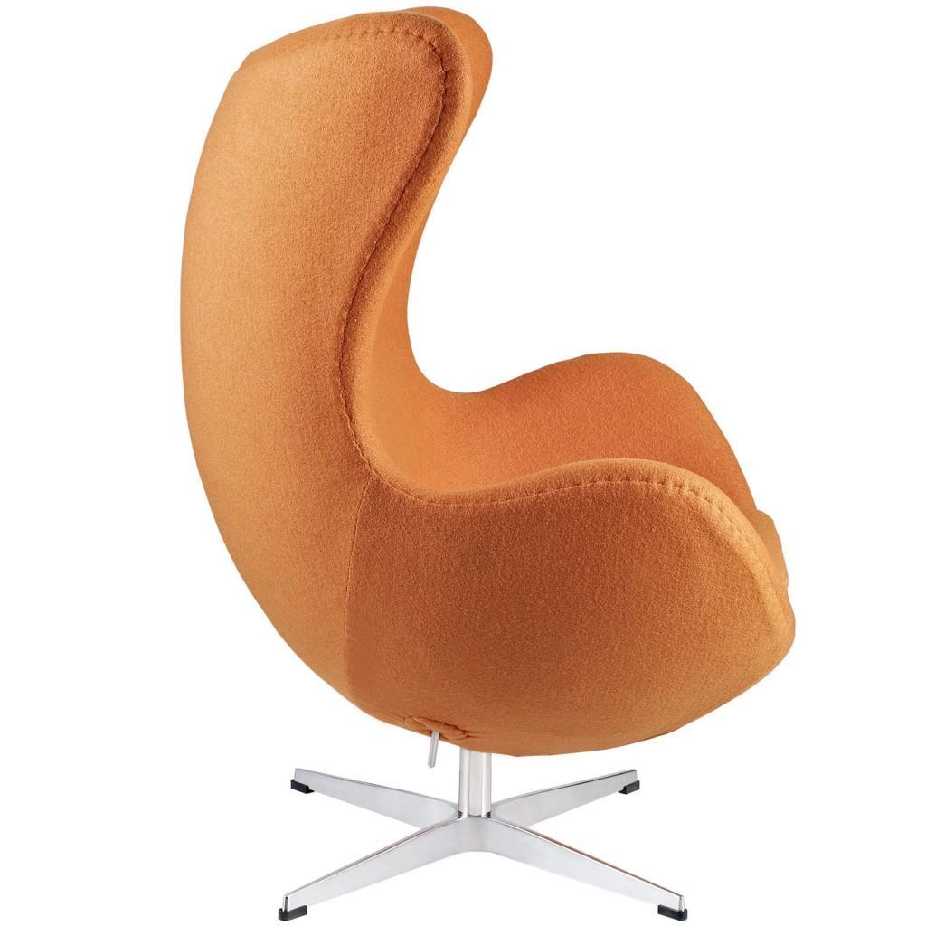 Orange Magnum Wool Chair 2