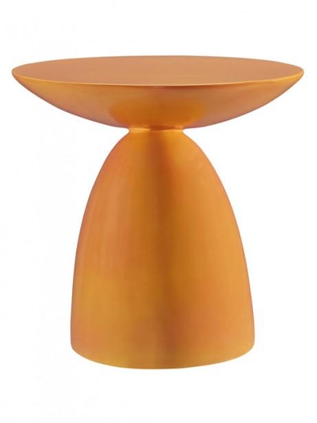 Orange Pebble Side Table 461x614