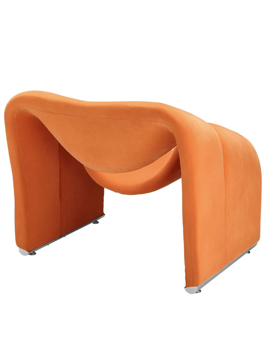 Orange Velocity Armchair 4