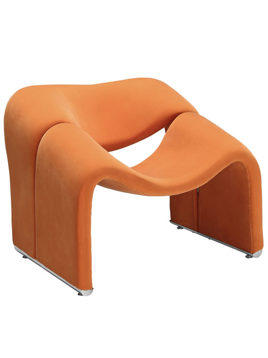 Orange Velocity Armchair