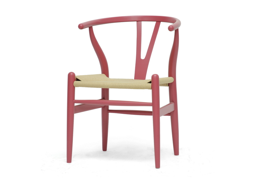 Pink Hemp Chair