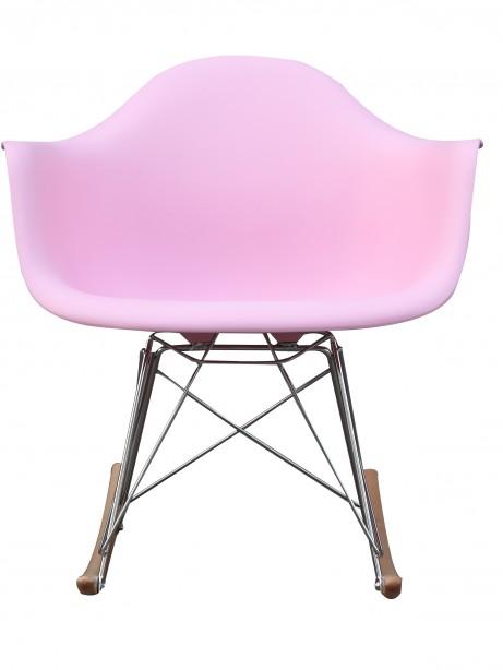 Pink Mid Century Rocking Chait Dock Rocker 3 461x614