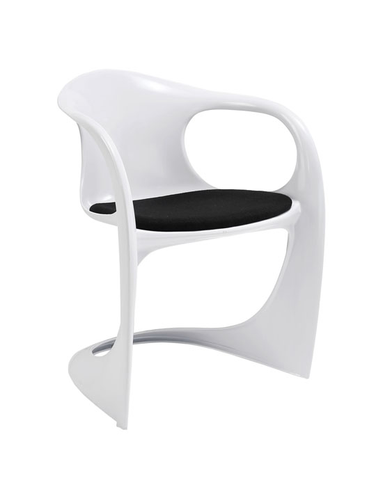 Proto Chair White Red Seating