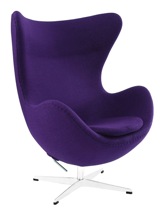 Exceptionnel Purple Magnum Wool Chair