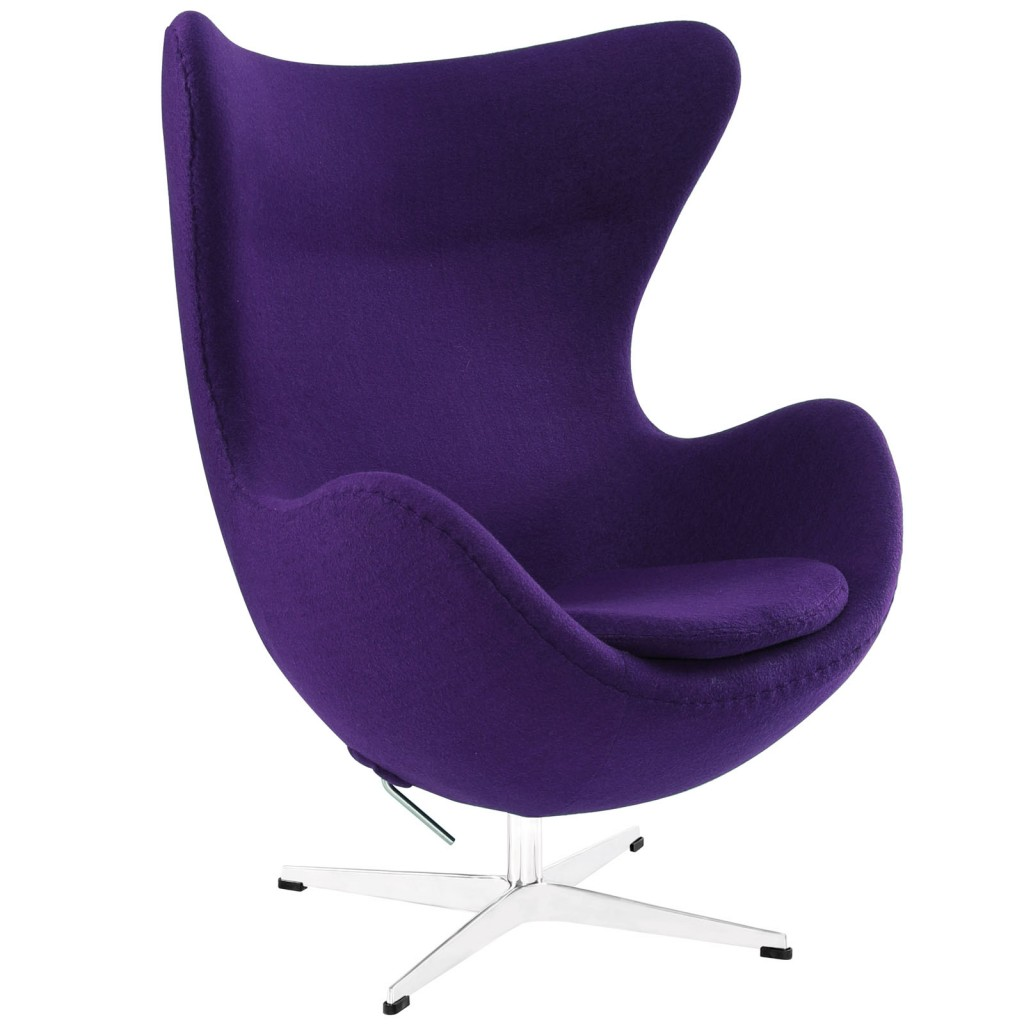 Purple Magnum Wool Chair1